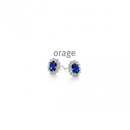 Orage oorbellen - 101890